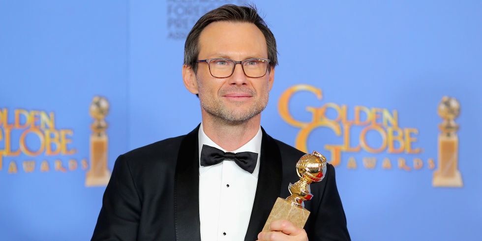 Christian Slater took home the Golden Globe for Best Supporting Actor in a Drama Series