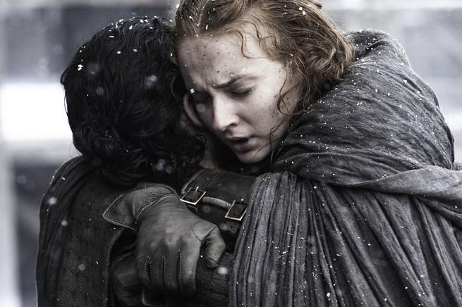 Sansa's reunion with Jon was among Book of the Stranger's main highlights